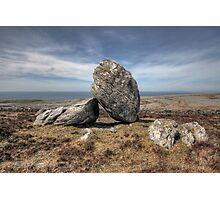 Burren boulders Photographic Print