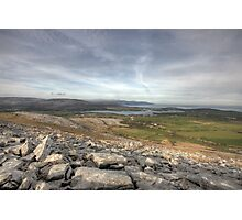 Burren Scenery Photographic Print