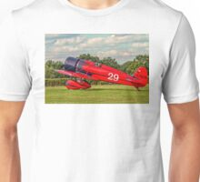 Travel Air Mystery Ship replica G-TATR taxies in Unisex T-Shirt