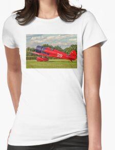 Travel Air Mystery Ship replica G-TATR taxies in T-Shirt