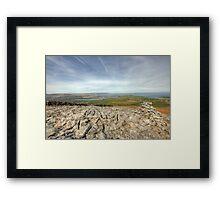 Burren Landscape Framed Print