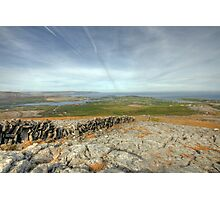 Burren view Photographic Print