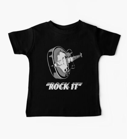 the rock t-shirt Baby Tee
