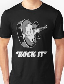 the rock t-shirt Unisex T-Shirt