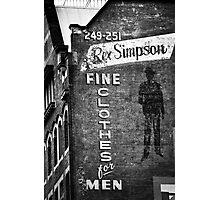 Rex Simpson Photographic Print