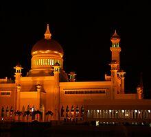 Sultan Omar Ali Saifuddin Mosque, Brunei 1 by Philip Alexander