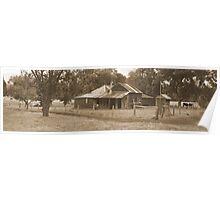 Darradup House - Nannup - Western Australia Poster