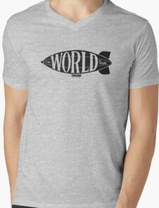 Who's World Is This? Mens V-Neck T-Shirt