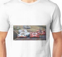 Ferrari vs Porsche 1970 Watkins Glen 6 Hours Unisex T-Shirt