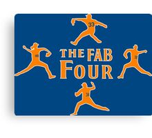 The Fab Four Canvas Print