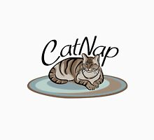 Cat Nap Womens Fitted T-Shirt