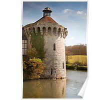 Scotney Castle Kent UK: Turret Detail Poster