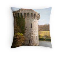 Scotney Castle Kent UK: Turret Detail Throw Pillow