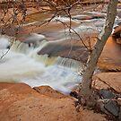 Slide Rock Falls by Zane Paxton