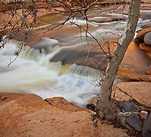 Slide Rock Falls by Zane Paxton