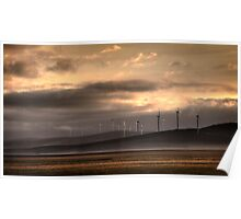 Lake George Wind farm. Poster
