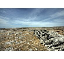 Burren Walls Photographic Print