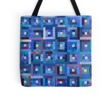 Blue Note Quilt Tote Bag