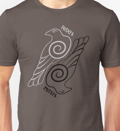 Hugin & Munin Unisex T-Shirt