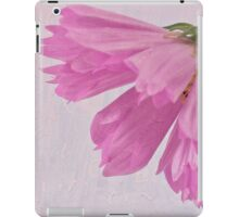 Pink Cosmo Flower And Bud iPad Case/Skin