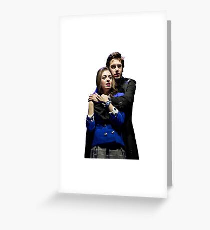 Veronica and JD Greeting Card