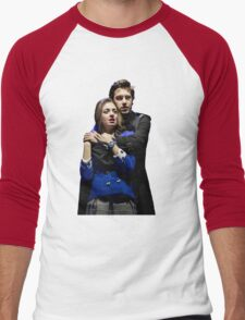 Veronica and JD Men's Baseball ¾ T-Shirt