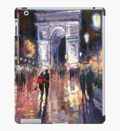 Paris Miting Point Arc de Triomphie iPad Case/Skin