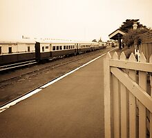 Queenscliff Station by Jack Jansen