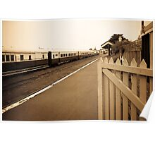 Queenscliff Station Poster