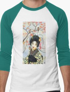 Geisha Men's Baseball ¾ T-Shirt