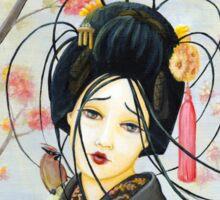 Geisha Sticker