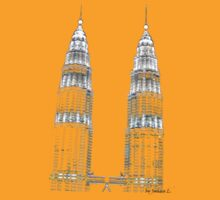 Twin Towers by j0sh