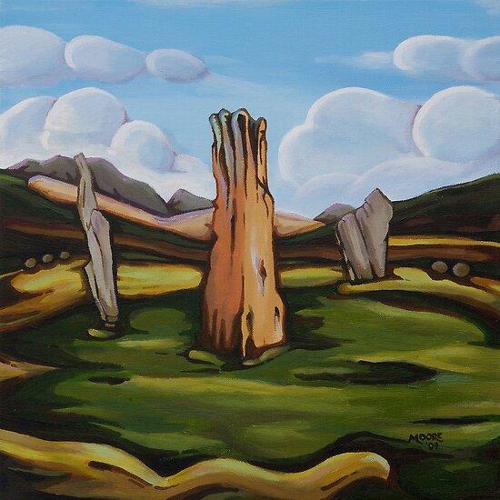 Machrie Moor by Jim Moore