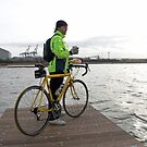 The Cyclist by Tony  Glover