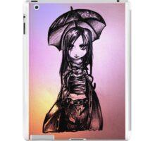 Anime Gothic Girl iPad Case/Skin