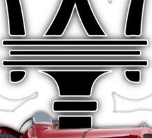 Maserati 8CM Gran Prix Car Sticker
