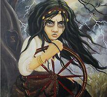 Wheel of Fortune by Terri Woodward