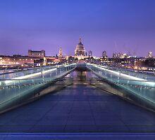 Millenium Bridge - London by Luseche