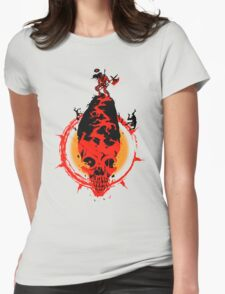 King of the hill Womens Fitted T-Shirt
