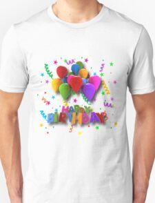 Fun Happy Birthday Balloons T-Shirt