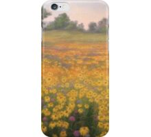 Wildflower mural. iPhone Case/Skin