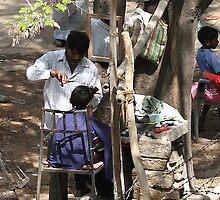 Livelihood under a tree. by debjyotinayak