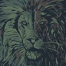 Lion camo close by weirdbird