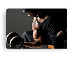 Strong arm Canvas Print