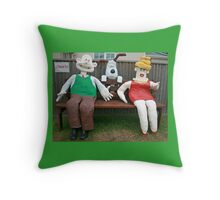 Wallace & Gromit Throw Pillow
