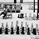 Too cold for chess by Alex Howen