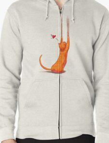 Cat Scratch Zipped Hoodie