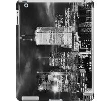 Toronto Cityscape- Black & White iPad Case/Skin