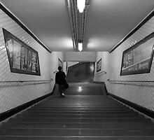 Metro de Paris - Subway at Paris by churros