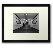 Metro de Paris - Subway at Paris Framed Print